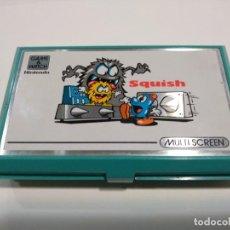Videojuegos y Consolas: NINTENDO GAME&WATCH. SQUISH. Lote 143909738