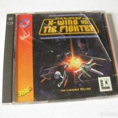 Videojuegos y Consolas: JUEGO X-WING VS TIE FIGHTER EN CASTELLANO - STAR WARS. Lote 143979490