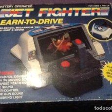 Videojuegos y Consolas: ANTIGUA CONSOLA JET FIGHTER 1989 MADE IN TAIWAN NUEVA FUNCIONA . Lote 144062190