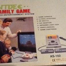 Videojuegos y Consolas: CONSOLA NTDE FAMILY GAME MUY RARA. Lote 144064530