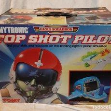Videojuegos y Consolas: TOMY TOMYTRONIC TOP SHOT PILOT EAGLE SCUADRON JUEGO ELECTRO MECANICO VINTAGE ** EXCELENTE**. Lote 221364701