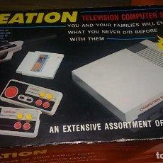 Videojuegos y Consolas: CAJA VACÍA VIDEOCONSOLA CREATION TELEVISION COMPUTER SYSTEM . Lote 144226614