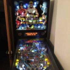 Videojuegos y Consolas: PINBALL ROYAL RUMBLE WWF DE SEGA, FLIPPER,PIMBALL,PETACO,RECREATIVA,TRAGAPERRAS,HULK HOGAN WWF,. Lote 144624458