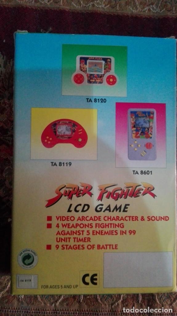 Videojuegos y Consolas: super fighter lcd game a estrenar resto tienda - Foto 3 - 144939378