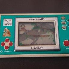 Videojuegos y Consolas: GAME & WATCH MAQUINITA VINTAGE AÑO 1982 DONKEY KONG JR. ( PANTALLA ROTA ). Lote 145679149
