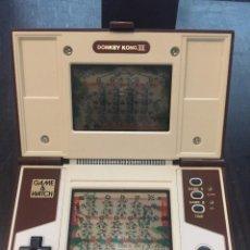 Videojuegos y Consolas: JUEGO NINTENDO DONKEY KONG II GAME AND WATCH , AÑO 1983 , FUNCIONA. Lote 146855578