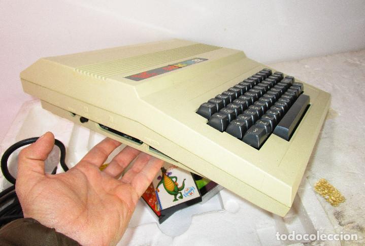 Videojuegos y Consolas: de museo! ordenador vintage antiguo mitico DRAGON 32 con software, juego, cable y en su caja corcho - Foto 2 - 147264814