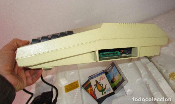 Videojuegos y Consolas: de museo! ordenador vintage antiguo mitico DRAGON 32 con software, juego, cable y en su caja corcho - Foto 3 - 147264814