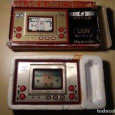 Videojuegos y Consolas: RARO!!!! GAME AND WATCH LION!!. Lote 147396402