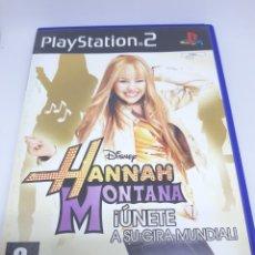Videojuegos y Consolas: JUEGO HANNAH MONTANA PS2. Lote 147478356