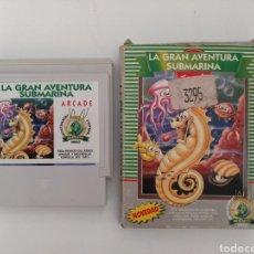 Videojuegos y Consolas: JUEGO ARCADE LA GRAN AVENTURA SUBMARINA, GLUK VIDEO, AÑOS 90. Lote 147720509