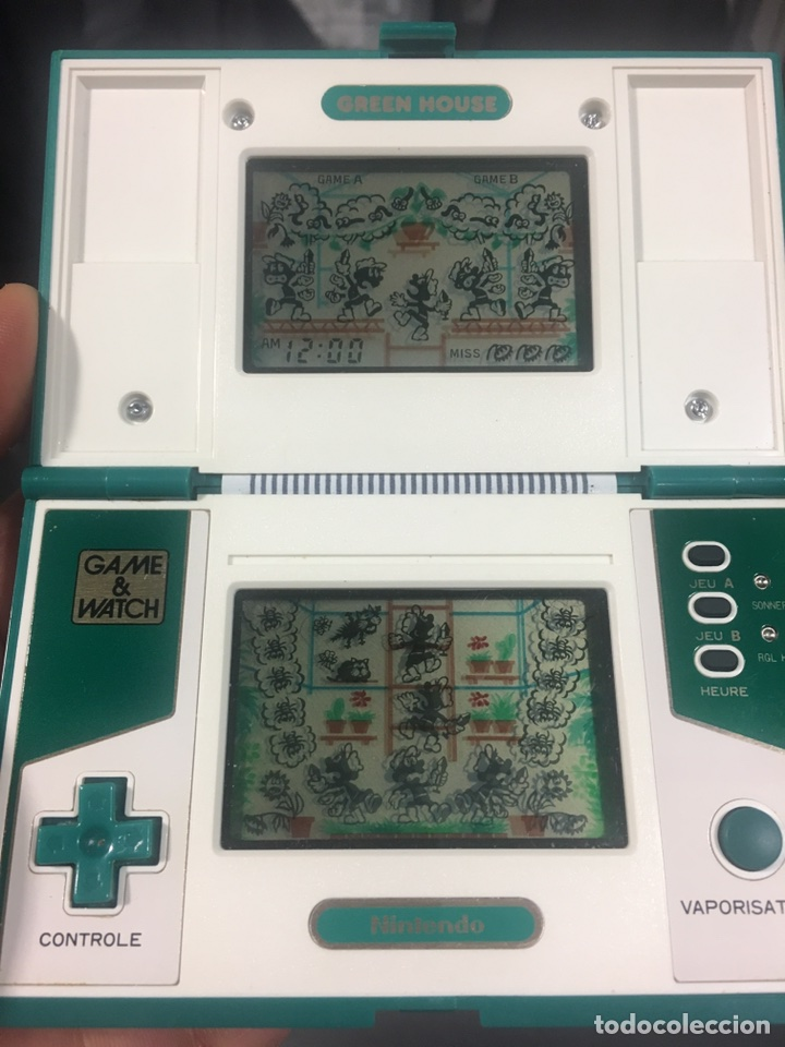 Videojuegos y Consolas: Game Watch,Green house version Francia Nintendo,Bandai,sega,electronic game - Foto 2 - 107049463