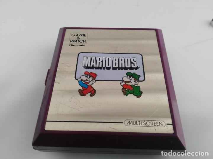 ANTIGUA MAQUINITA GAME WATCH DE NINTENDO MARIO BROS (Juguetes - Videojuegos y Consolas - Otros descatalogados)