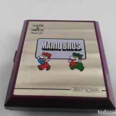 Videojuegos y Consolas: ANTIGUA MAQUINITA GAME WATCH DE NINTENDO MARIO BROS. Lote 148006062