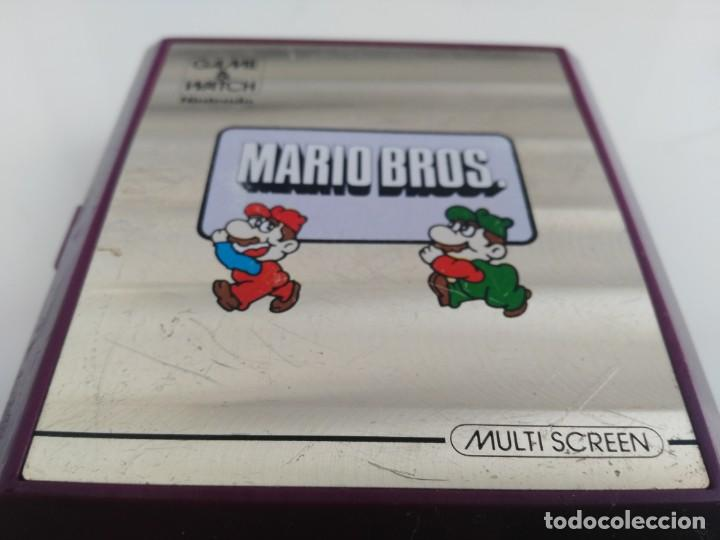 Videojuegos y Consolas: ANTIGUA MAQUINITA GAME WATCH DE NINTENDO MARIO BROS - Foto 2 - 148006062