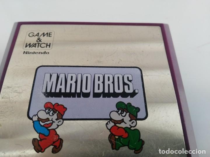Videojuegos y Consolas: ANTIGUA MAQUINITA GAME WATCH DE NINTENDO MARIO BROS - Foto 3 - 148006062