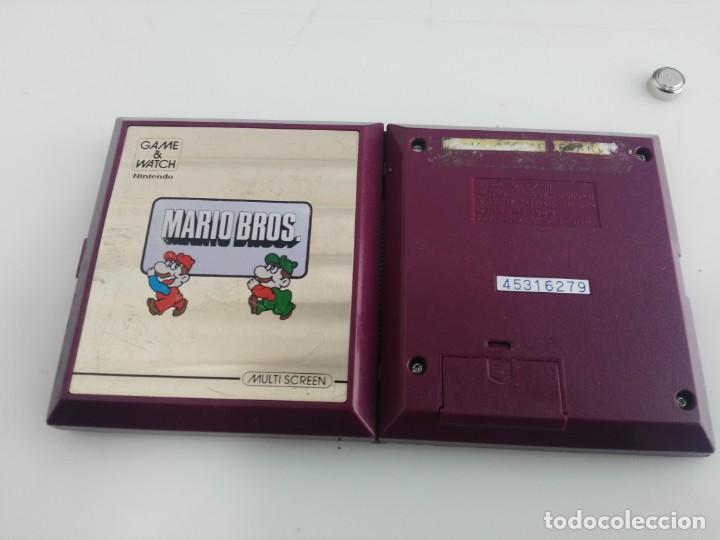 Videojuegos y Consolas: ANTIGUA MAQUINITA GAME WATCH DE NINTENDO MARIO BROS - Foto 4 - 148006062