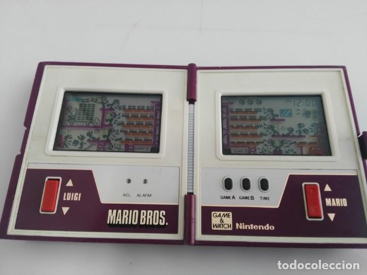 Videojuegos y Consolas: ANTIGUA MAQUINITA GAME WATCH DE NINTENDO MARIO BROS - Foto 7 - 148006062