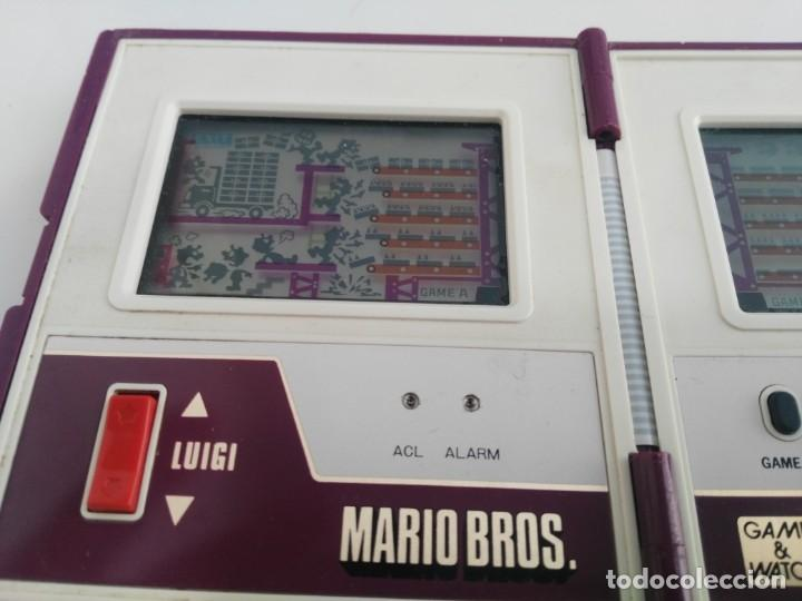 Videojuegos y Consolas: ANTIGUA MAQUINITA GAME WATCH DE NINTENDO MARIO BROS - Foto 8 - 148006062