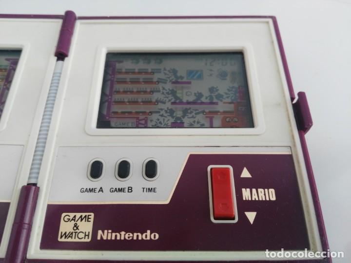 Videojuegos y Consolas: ANTIGUA MAQUINITA GAME WATCH DE NINTENDO MARIO BROS - Foto 9 - 148006062
