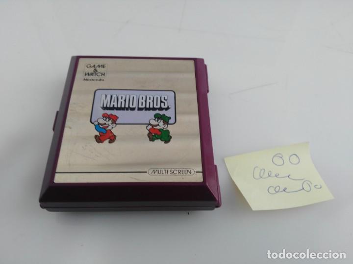 Videojuegos y Consolas: ANTIGUA MAQUINITA GAME WATCH DE NINTENDO MARIO BROS - Foto 12 - 148006062