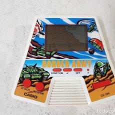 Videojuegos y Consolas: GAME WATCH CASIO CG390 BORDER ARMY FUNCIONANDO PERFECTAMENTE COMO NUEVA-AÑO 1987. Lote 148136274