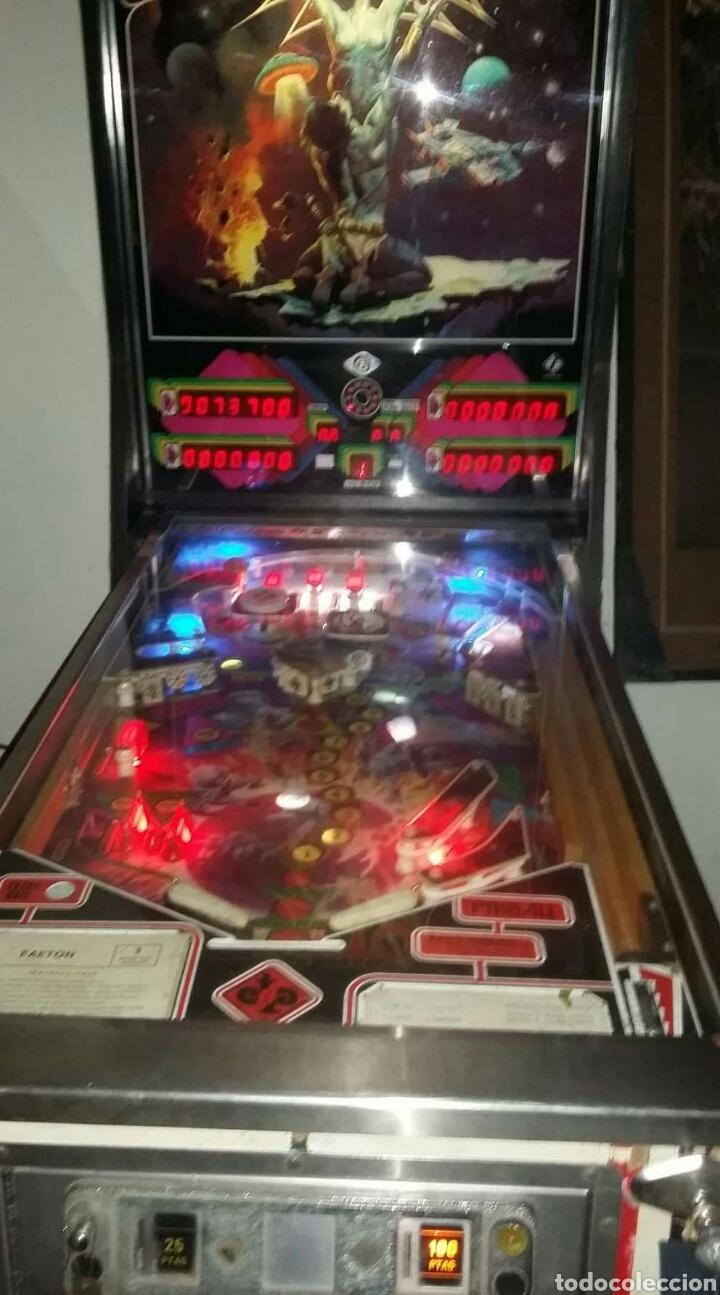 Videojuegos y Consolas: Pinball FAETON de Juegos Populares.PETACO Año fabricación 1985. 4 jugadores. 1 bola. 2 flippers - Foto 9 - 121041519