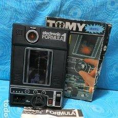 Videojuegos y Consolas: CONSOLA JUEGO ELECTRONIC FORMULA 1 TOMY GEYPER. Lote 149139382