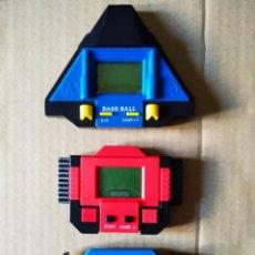 Videojuegos y Consolas: LOTE DE 3 MAQUINITAS GAME WATCH LCD. CON BASE BALL Y SPACE WAR.. Lote 153516622