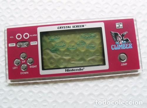 GAME AND WATCH. CRYSTAL SCREEN CLIMBER DR-802. NUEVA!!! (Juguetes - Videojuegos y Consolas - Otros descatalogados)
