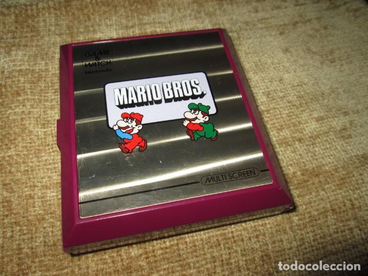 GAME AND WATCH / GAME & WATCH ~ MARIO BROS ~ NINTENDO ~ LEER! (Juguetes - Videojuegos y Consolas - Otros descatalogados)