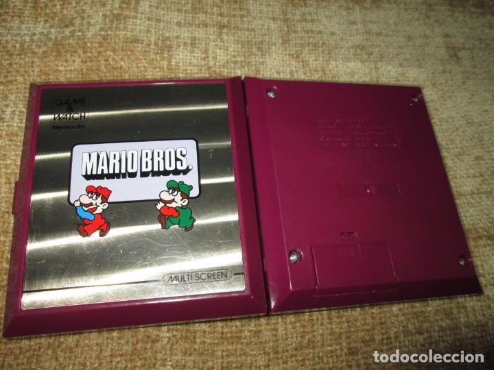 Videojuegos y Consolas: GAME AND WATCH / GAME & WATCH ~ MARIO BROS ~ NINTENDO ~ LEER! - Foto 2 - 149684806