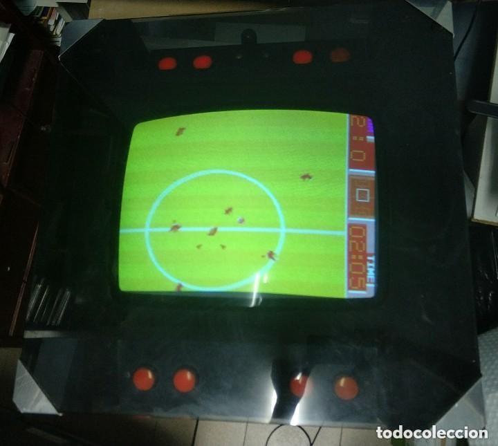 ANTIGUA MAQUINA RECREATIVA WORLD CUP AÑO 1985 MITICO JUEGO DE FUTBOL MUNDIAL (Juguetes - Videojuegos y Consolas - Otros descatalogados)