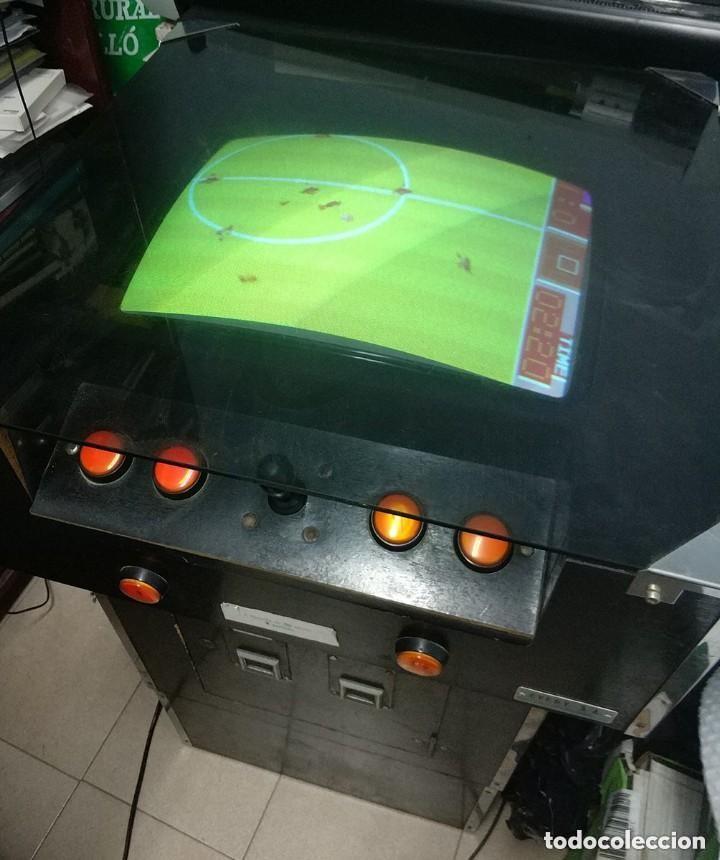 Videojuegos y Consolas: antigua maquina recreativa world cup año 1985 mitico juego de futbol mundial - Foto 2 - 150198074