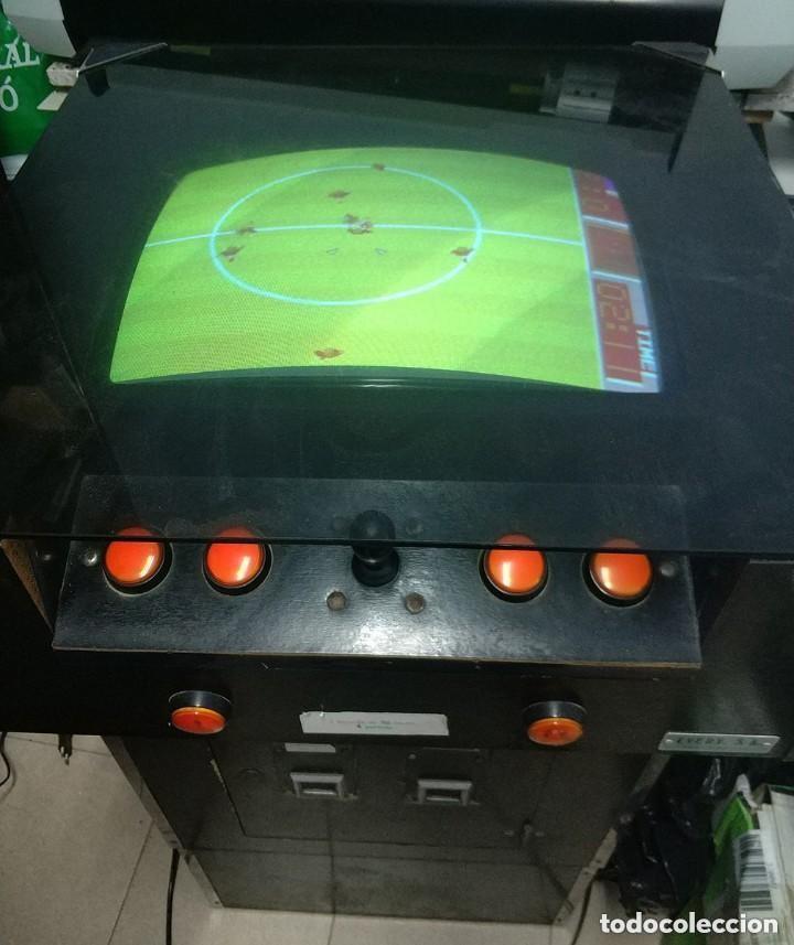 Videojuegos y Consolas: antigua maquina recreativa world cup año 1985 mitico juego de futbol mundial - Foto 4 - 150198074
