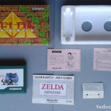 Videojuegos y Consolas: NINTENDO GAME&WATCH MULTISCREEN ZELDA ZL-65 COMPLETE IN BOX UNUSED NEAR MINT!!! R8413. Lote 150236286