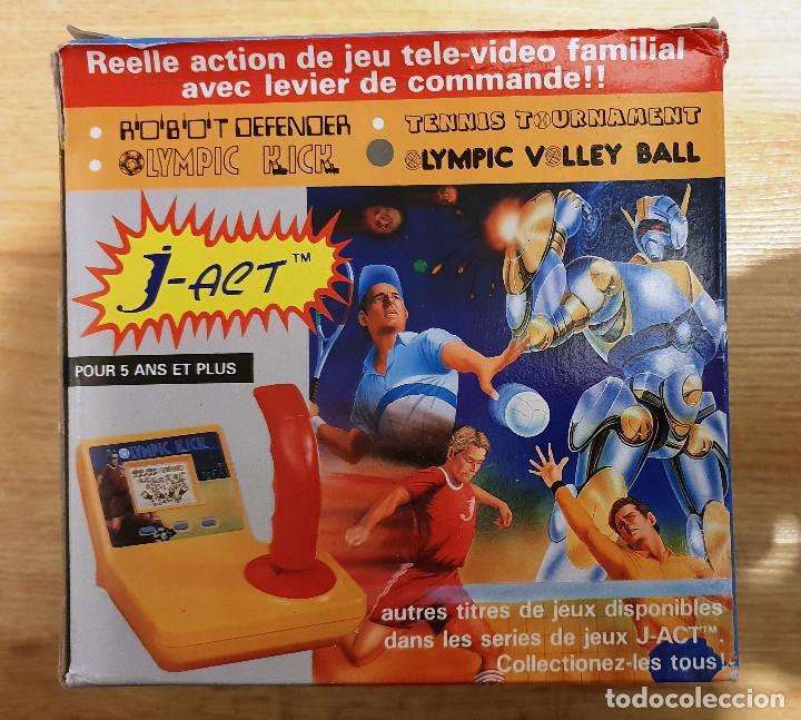 GAME & WATCH CON JOYSTICK J-ACT OLYMPIC VOLLEY BALL. NUEVO EN EMBALAJE ORIGINAL (Juguetes - Videojuegos y Consolas - Otros descatalogados)