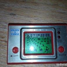Videojuegos y Consolas: PLAY TIME LCD, FOOTBALL. Lote 150634458