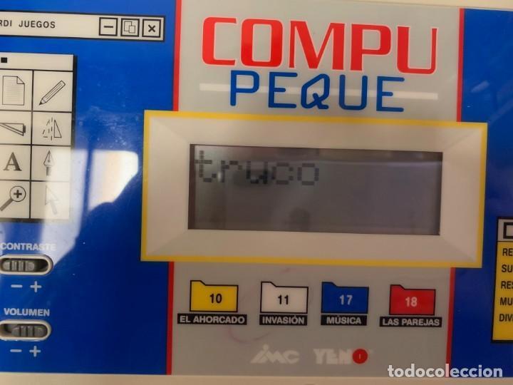 Videojuegos y Consolas: ORDENADOR INFANTIL COMPU PEQUE DE YENO - DESCATALOGADO - Foto 2 - 150643206