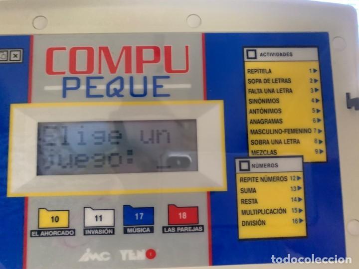 Videojuegos y Consolas: ORDENADOR INFANTIL COMPU PEQUE DE YENO - DESCATALOGADO - Foto 7 - 150643206