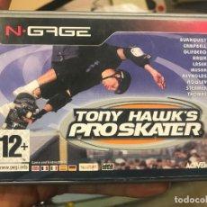 Videojuegos y Consolas: TONY HAWK'S PRO SKATER JUEGO PARA NOKIA NGAGE N-GAGE COMPLETO. Lote 150844710