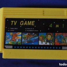 Videojuegos y Consolas: CASSETTE * CARTUCHO JUEGOS. *TV GAME 4 EN 1 * FAMILY GAME - GAMIX COMPUTER. Lote 151017950