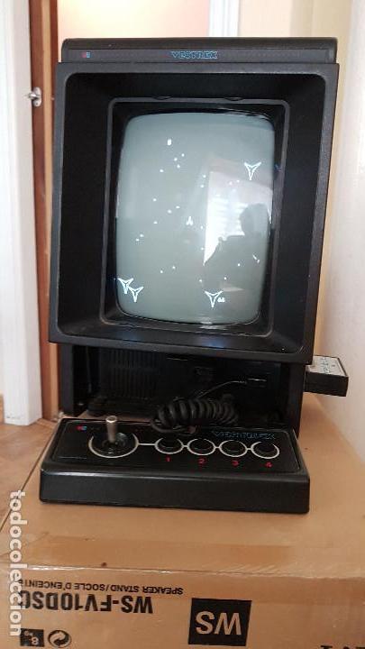 Videojuegos y Consolas: CONSOLA VECTREX AÑOS 80 MAS 12 JUEGOS CON SUS LAMINAS - Foto 6 - 151121310