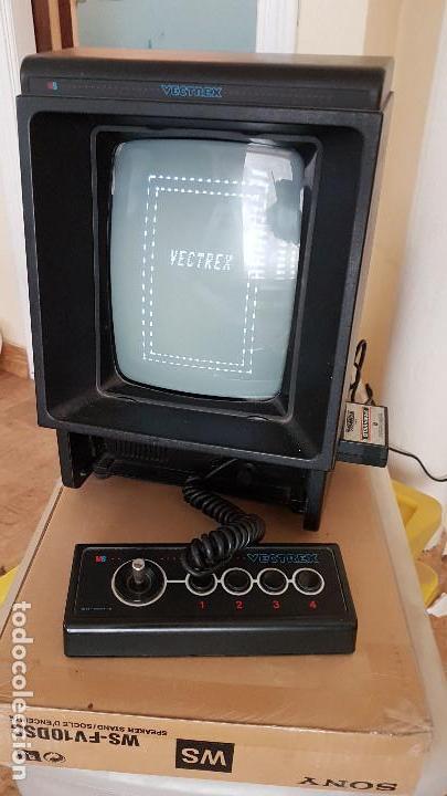 Videojuegos y Consolas: CONSOLA VECTREX AÑOS 80 MAS 12 JUEGOS CON SUS LAMINAS - Foto 8 - 151121310