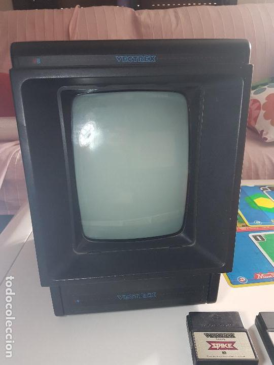 Videojuegos y Consolas: CONSOLA VECTREX AÑOS 80 MAS 12 JUEGOS CON SUS LAMINAS - Foto 13 - 151121310