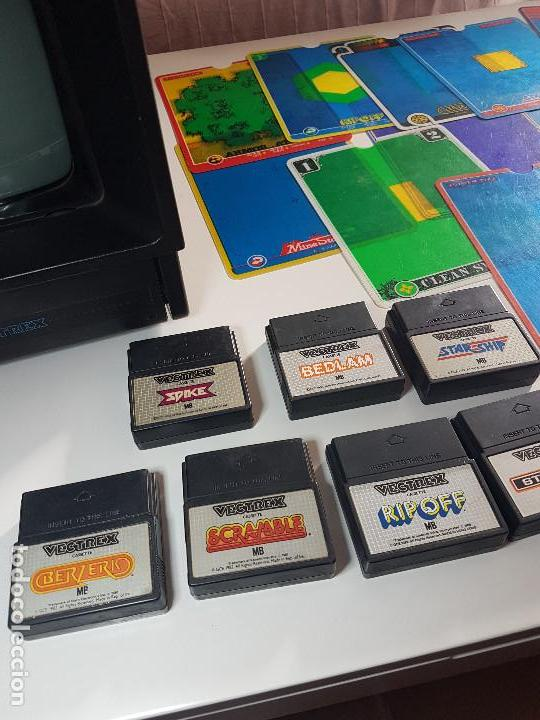 Videojuegos y Consolas: CONSOLA VECTREX AÑOS 80 MAS 12 JUEGOS CON SUS LAMINAS - Foto 14 - 151121310