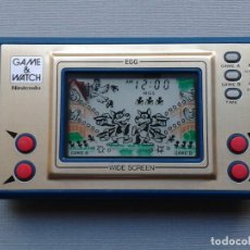 Videojuegos y Consolas: NINTENDO GAME&WATCH WIDESCREEN EGG EG-26 NEAR MINT CONDITION AMAZING MEGA RARE+! R8574. Lote 151361222