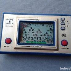 Videojuegos y Consolas: NINTENDO GAME&WATCH WIDESCREEN FIRE FR-27 NEAR MINT CONDITION FILTRO NUEVO! R8576. Lote 151361726