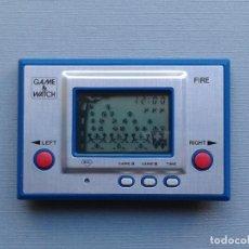 Videojuegos y Consolas: NINTENDO GAME&WATCH SILVER SERIES FIRE RC-04 EXTRA FINE/NEAR MINT FILTRO NUEVO R8577. Lote 151362034