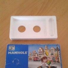 Videojuegos y Consolas: NINTENDO GAME&WATCH WIDESCREEN MANHOLE NH-013 CAJA COMPLETA BOX+FOAM VER!! R8578. Lote 151377494